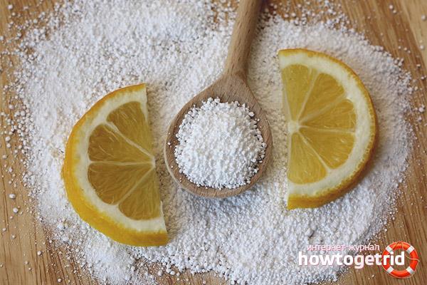Лимонная кислота от известкового налета