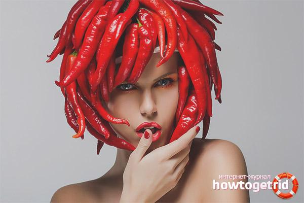 Маски с перцовкой для восстановления волос