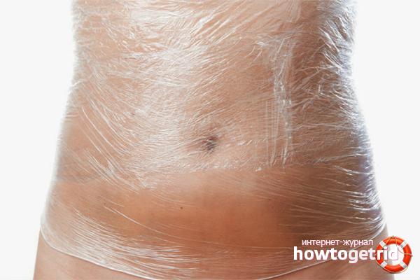 Обёртывания для подтяжки кожи на животе