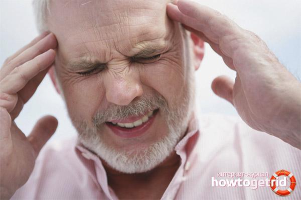 Первые признаки и симптомы инсульта у мужчин