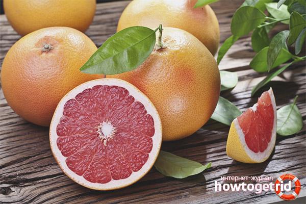 Полезные свойства и противопоказания грейпфрута