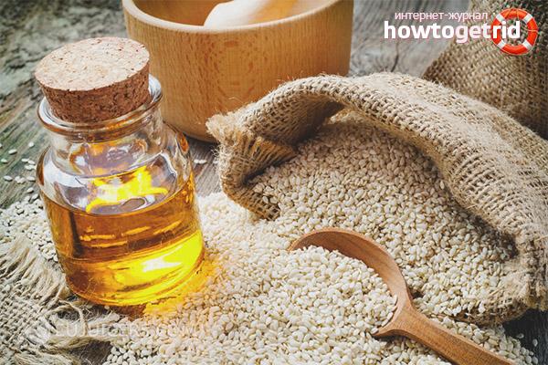 Полезные свойства и противопоказания кунжутного масла