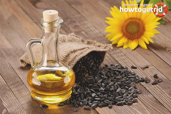 Полезные свойства и противопоказания подсолнечного масла