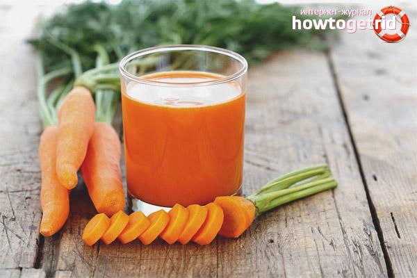 Польза морковного сока для женщин