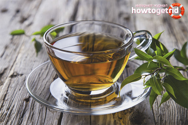 Зелёный чай для мужчин