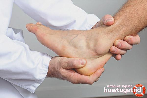 Как убрать боль в голеностопном суставе болеуталяющие при болезни суставов