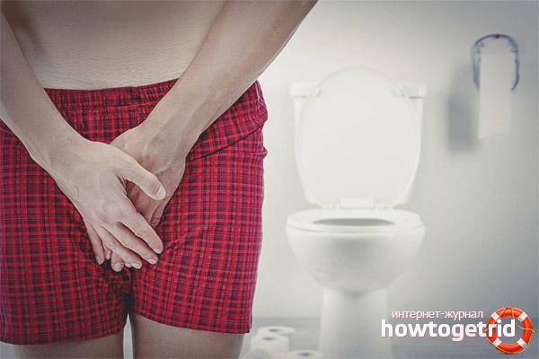 Частое мочеиспускание у мужчин без боли