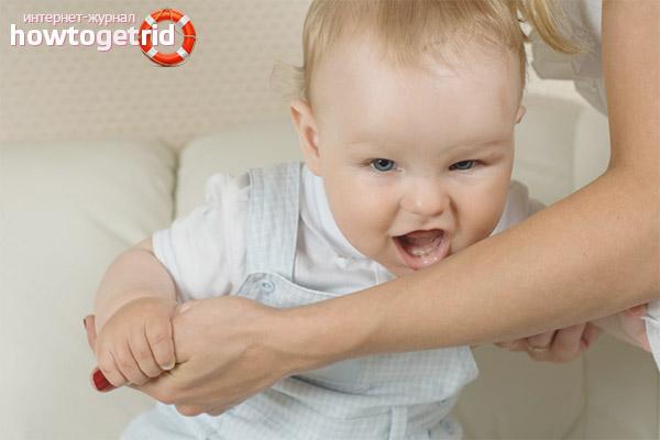 Что делать, если ребенок кусается