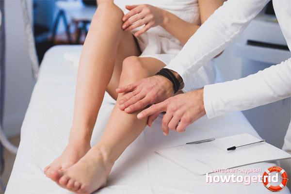 Диагностика тяжести в ногах