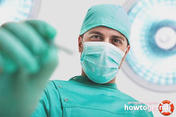 Хирургическое вмешательство при сердечной недостаточности