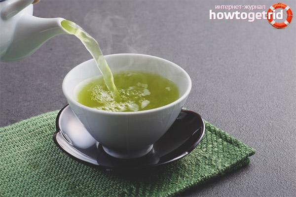 Зеленый чай при беременности - польза и вред