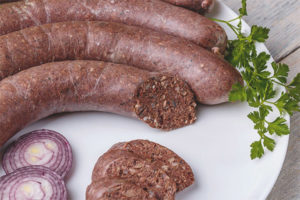 Как сделать кровяную колбасу
