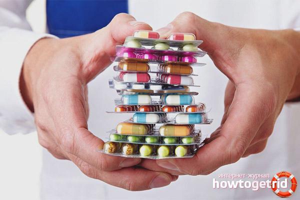 Медикаментозная терапия от метеозависимости