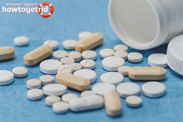 Медикаментозная терапия при менструальных болях