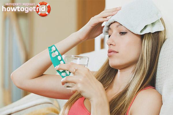 Медикаментозное лечение головной боли при беременности