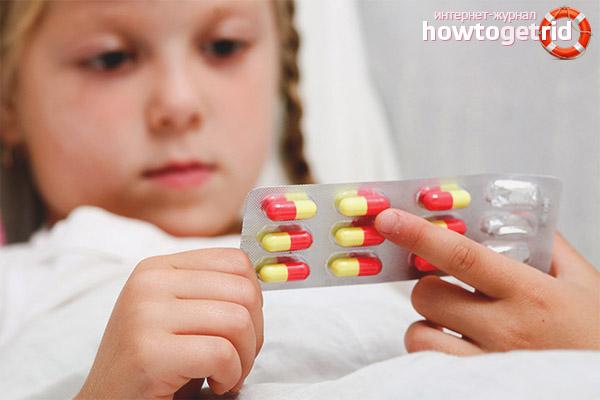 Медикаментозные препараты от простуды для детей