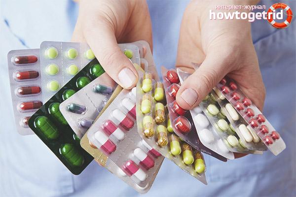 Медикаментозные способы вызвать менструацию