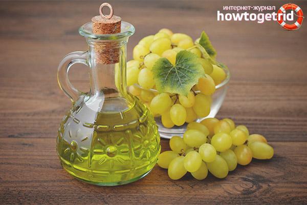 Методы применения виноградного масла для лица