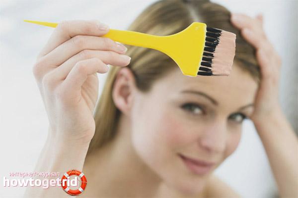 Можно ли красить волосы кормящей маме