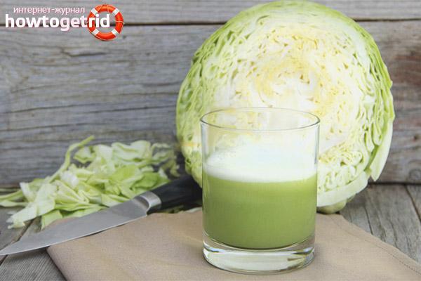 Полезные свойства и противопоказания капустного сока