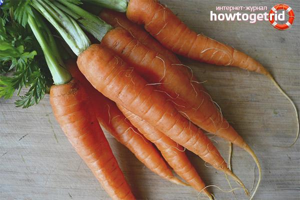 Полезные свойства моркови при беременности