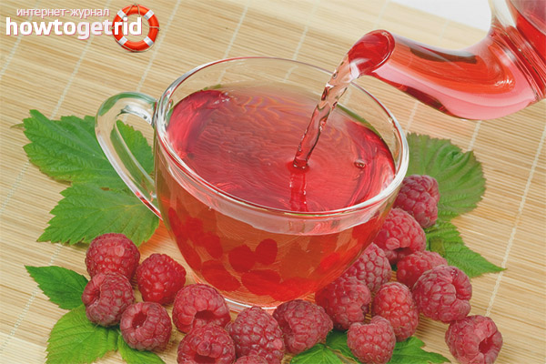 Польза чая с малиной