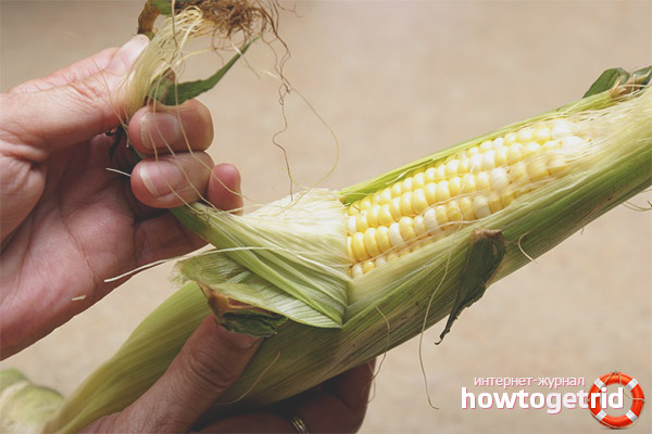 Рецепты на основе кукурузных рылец