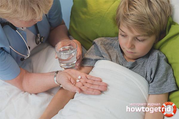 Таблетки от поноса для детей