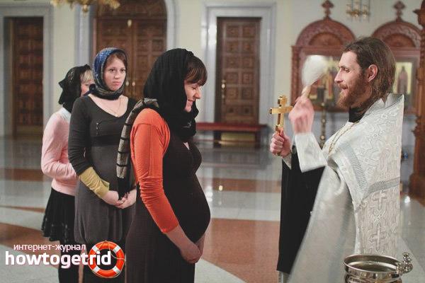 Зачем беременным ходить в церковь