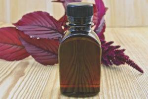 Амарантовое масло для лица