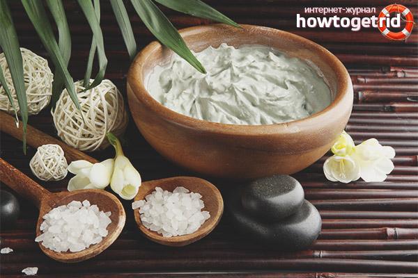 Белая глина для волос