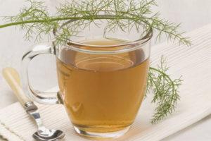 Чай с фенхелем для новорожденных детей
