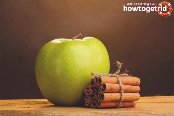 Яблоки и корица для очищения организма
