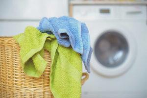 Как отстирать грязные кухонные полотенца