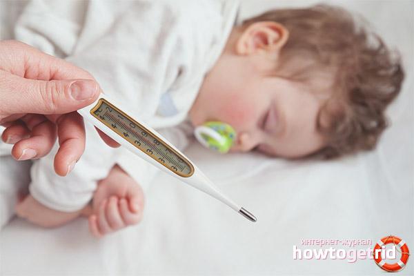 Какую температуру необходимо понижать малышам до года