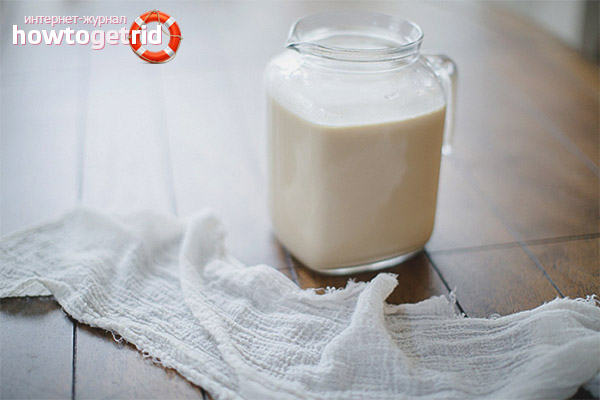 Козье молоко для детей