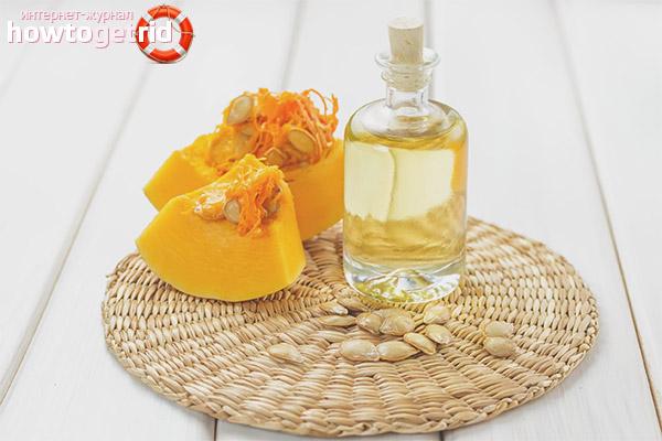 Основные свойства масла тыквы в косметологии