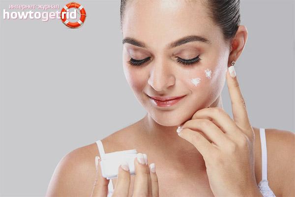 Особенности ухода за кожей лица после пилинга