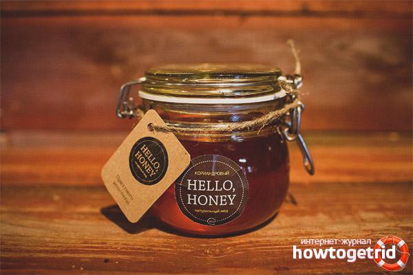 Полезные свойства и противопоказания кориандрового меда
