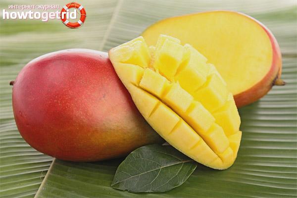 Противопоказания к употреблению манго