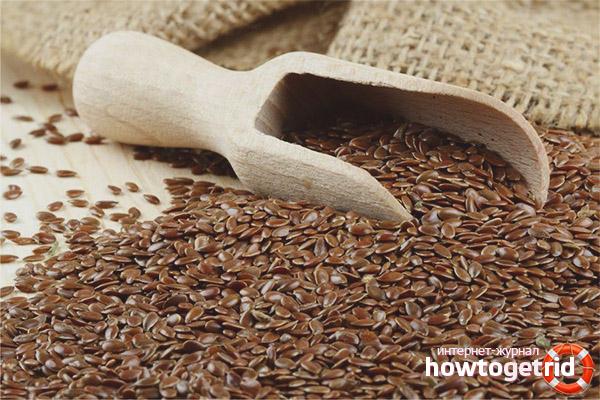 Противопоказания к употреблению семян льна