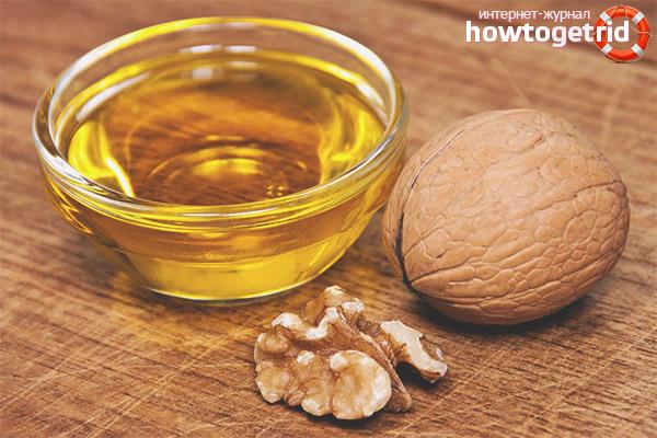 Противопоказания масла грецкого ореха для лица