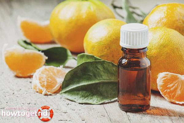 Рецепты на основе эфирного масла мандарина