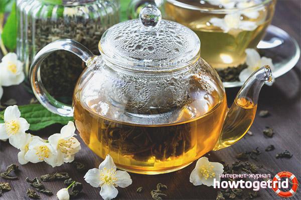 Вред жасминового чая