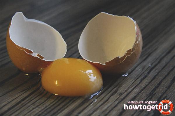 Чем опасны сырые яйца