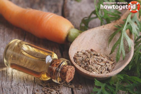 Эфирное масло семян моркови