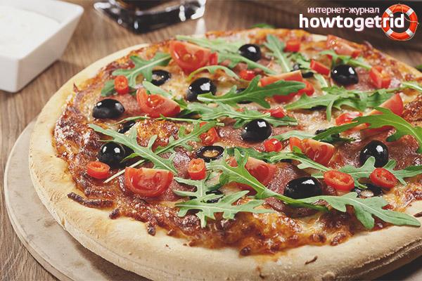 Как приготовить безвредную пиццу для кормящей мамы