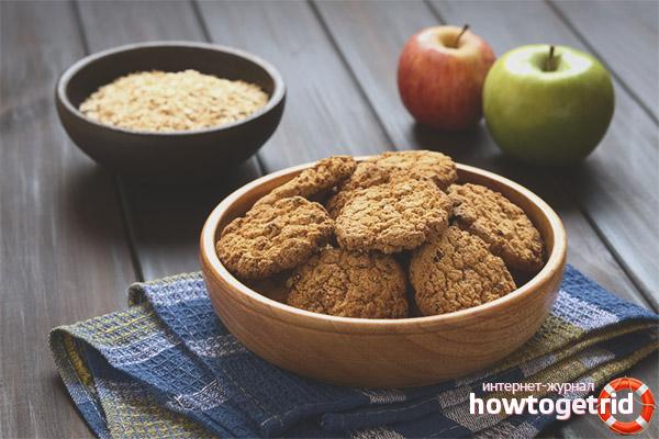 Какие добавки есть в овсяном печенье
