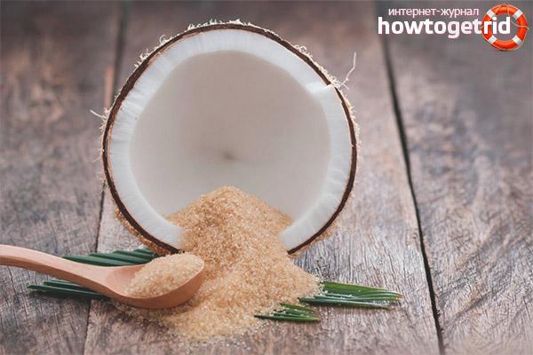 Калорийность и гликемический индекс кокосового сахара