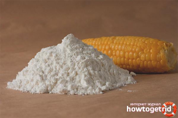 Кукурузный крахмал в косметологии
